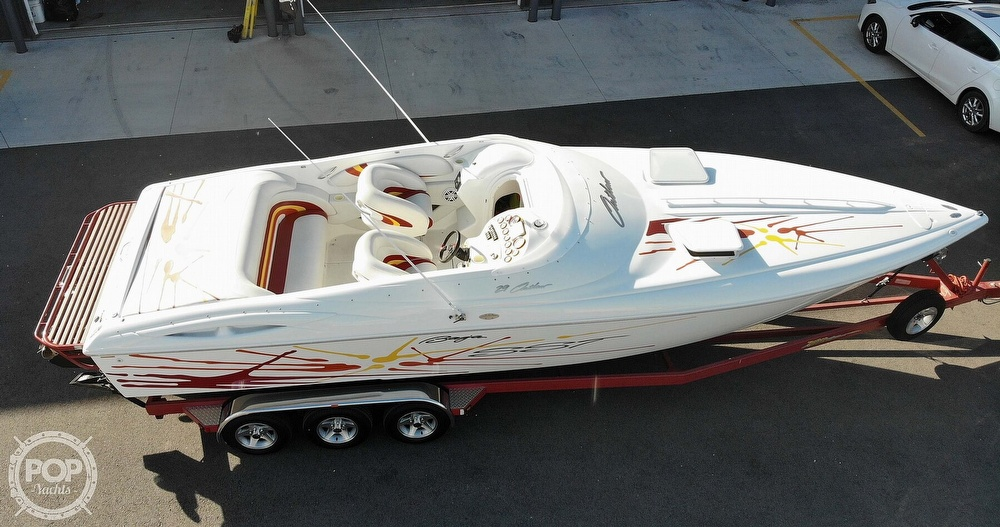 2001 Baja boat for sale, model of the boat is 29 Outlaw SST & Image # 6 of 40