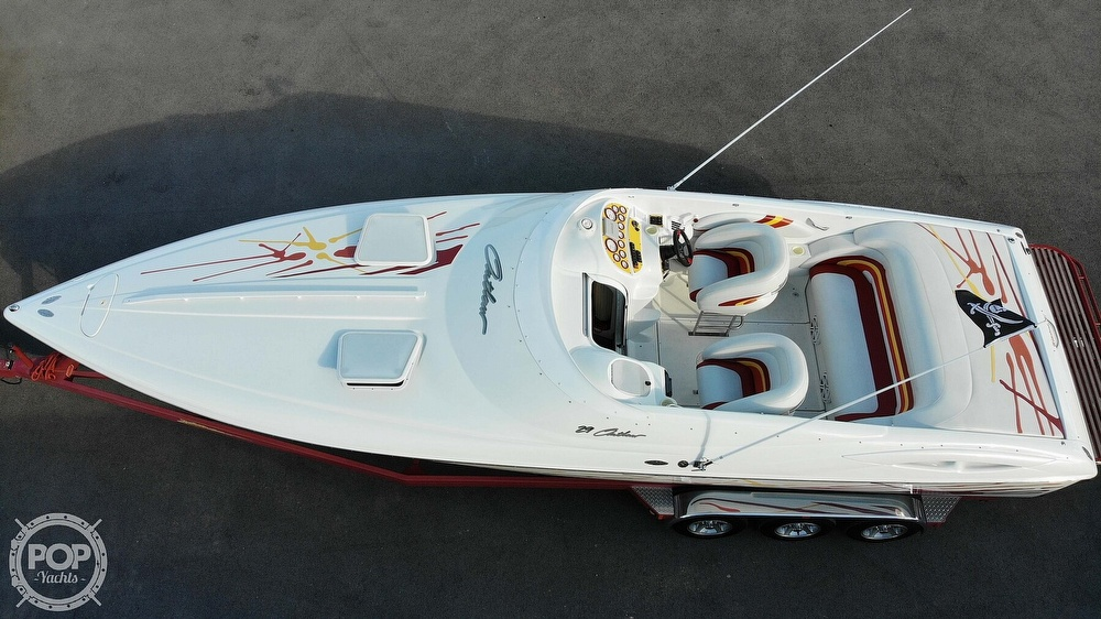 2001 Baja boat for sale, model of the boat is 29 Outlaw SST & Image # 3 of 40