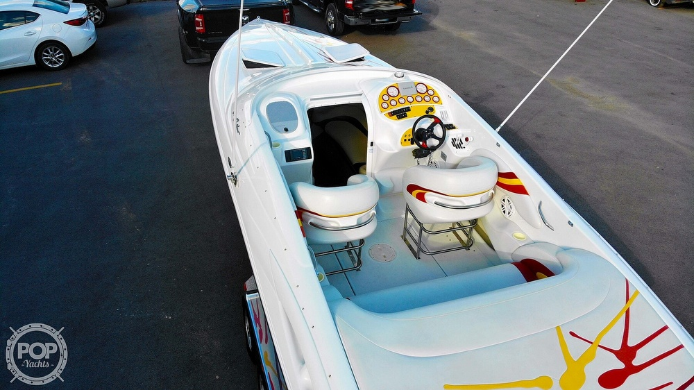 2001 Baja boat for sale, model of the boat is 29 Outlaw SST & Image # 5 of 40