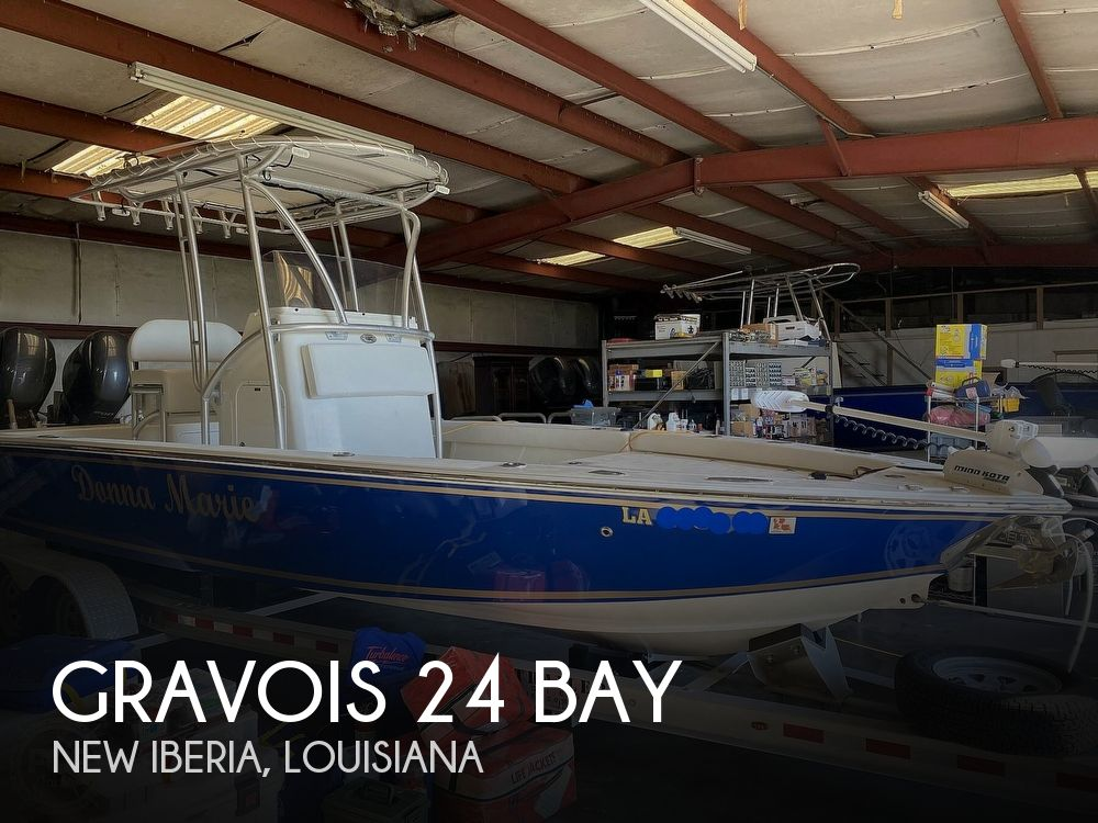 2016 Gravois boat for sale, model of the boat is 24 Bay & Image # 1 of 40