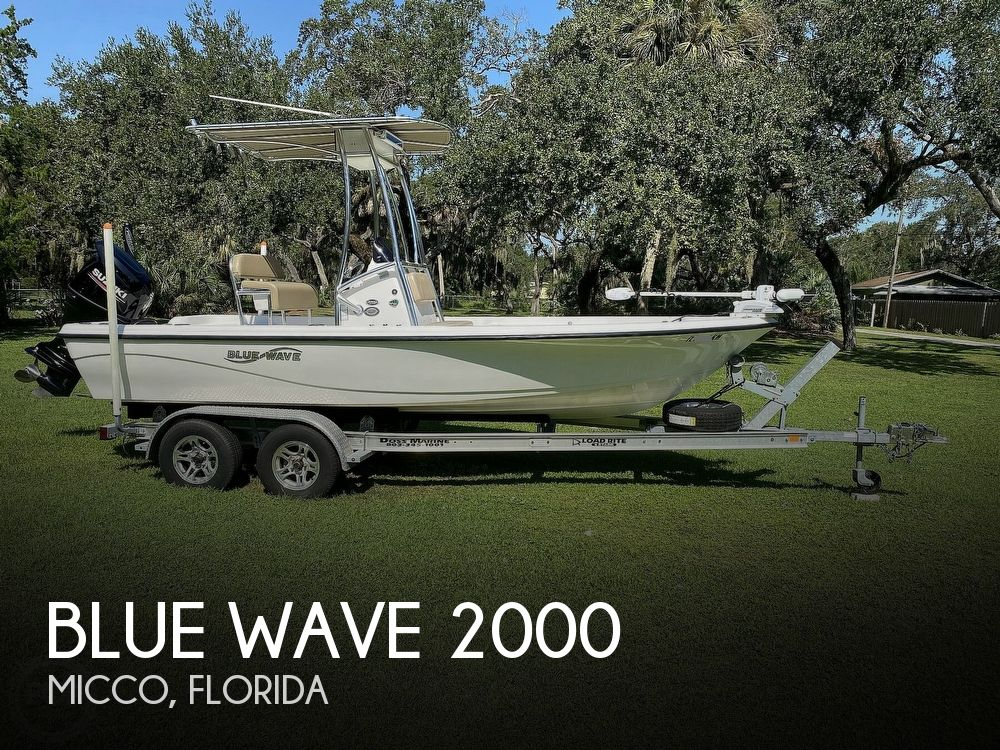 2018 Blue Wave boat for sale, model of the boat is Purebay 2000 SL & Image # 1 of 40