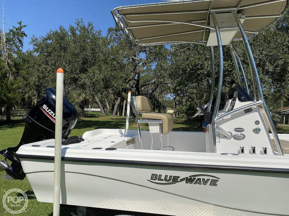 2018 Blue Wave boat for sale, model of the boat is Purebay 2000 SL & Image # 30 of 40