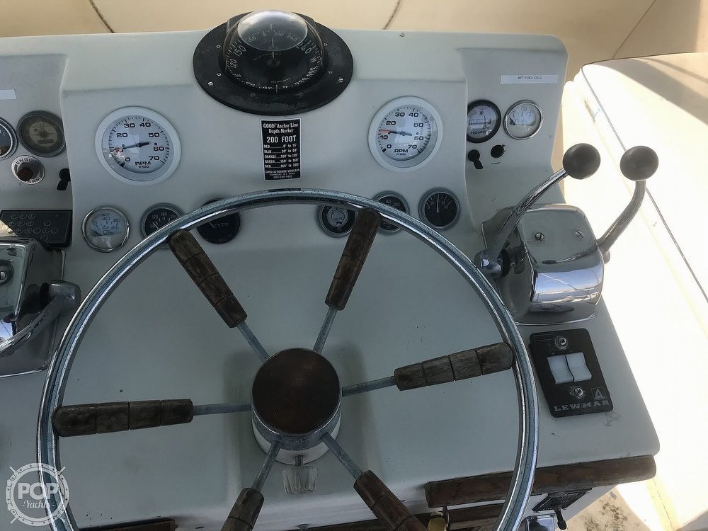1973 Viking boat for sale, model of the boat is 40 & Image # 18 of 40