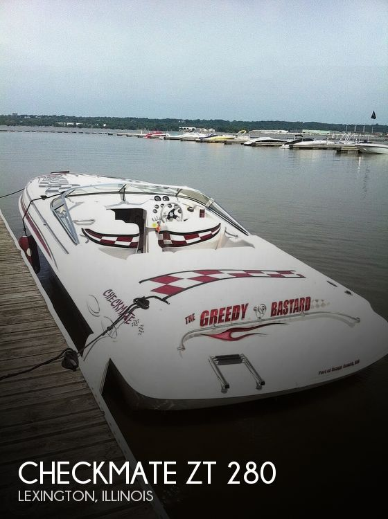 Used Boats For Sale in Peoria, Illinois by owner | 2000 Checkmate ZT 280