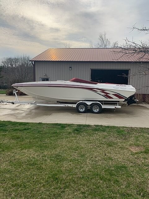 2000 Checkmate boat for sale, model of the boat is ZT 280 & Image # 8 of 24