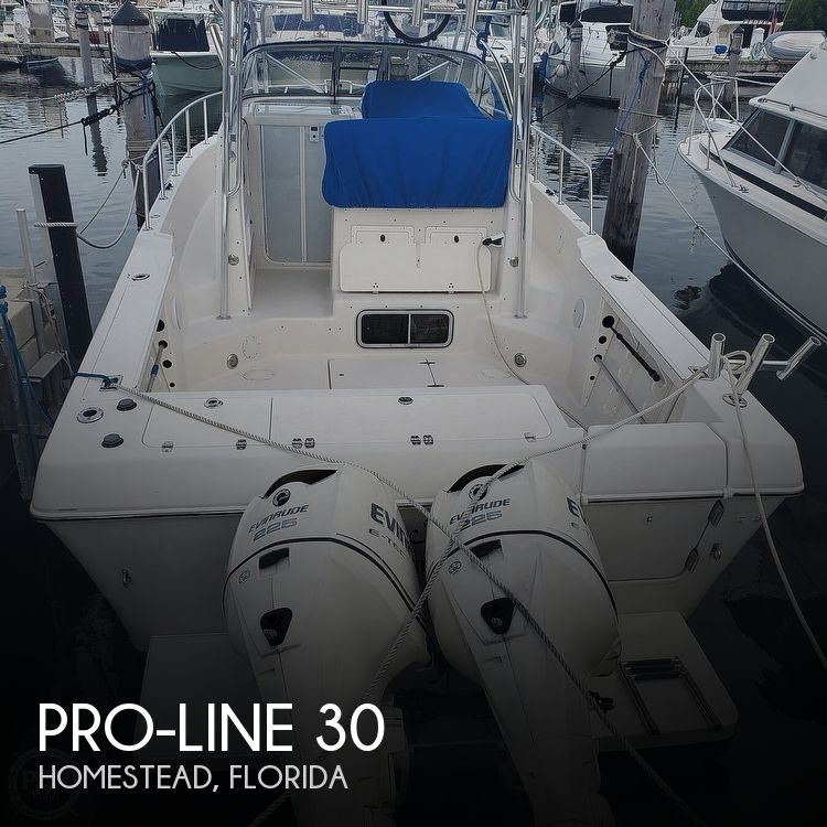 1998 Pro-Line boat for sale, model of the boat is 30 & Image # 1 of 41