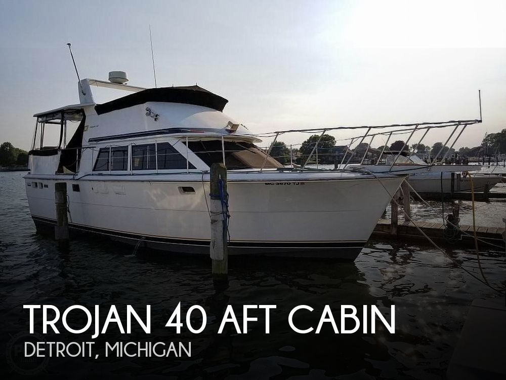 Used Trojan Boats For Sale in Michigan by owner | 1979 Trojan 40 Aft Cabin
