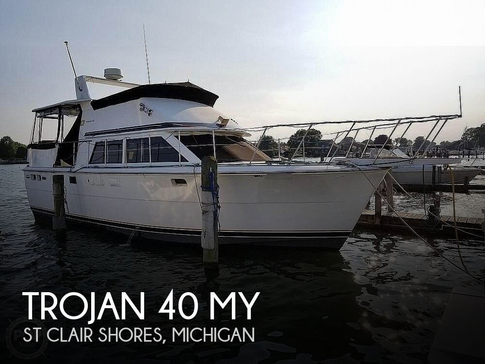 1979 Trojan boat for sale, model of the boat is 40 MY & Image # 1 of 40
