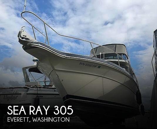 Used Sea Ray Boats For Sale in Washington by owner | 1988 Sea Ray 305 Sedan Bird