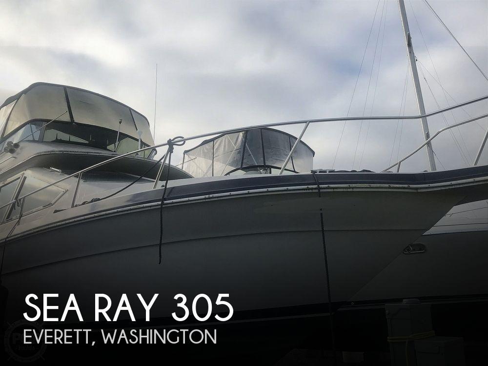 1988 SEA RAY 305 SEDAN BRIDGE for sale