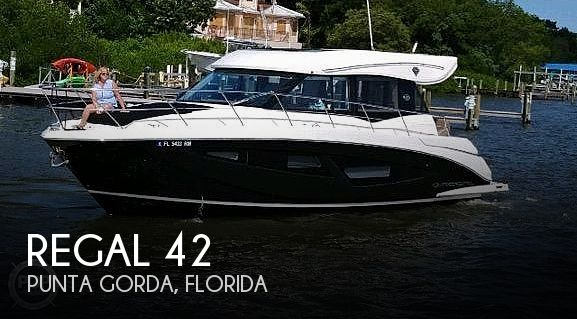 Used Boats For Sale in Naples, Florida by owner | 2018 Regal 42 Grand Coupe