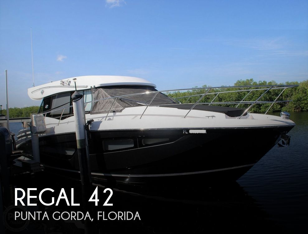 2018 Regal boat for sale, model of the boat is 42 Grande Coupe & Image # 1 of 40