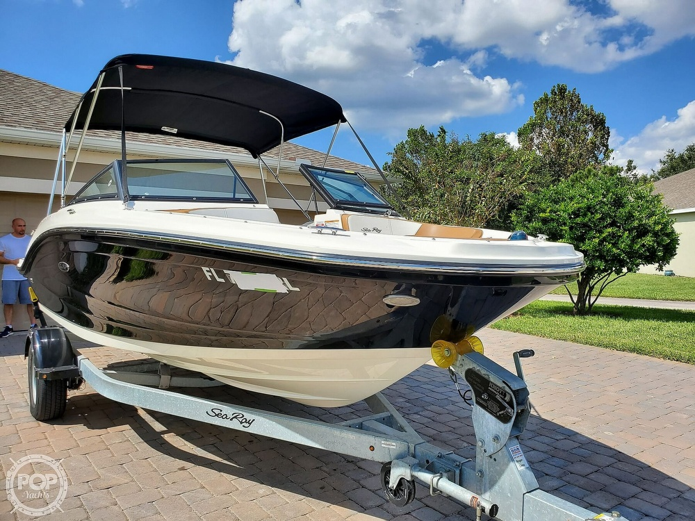 2018 Sea Ray boat for sale, model of the boat is SPX 190 OB & Image # 6 of 40