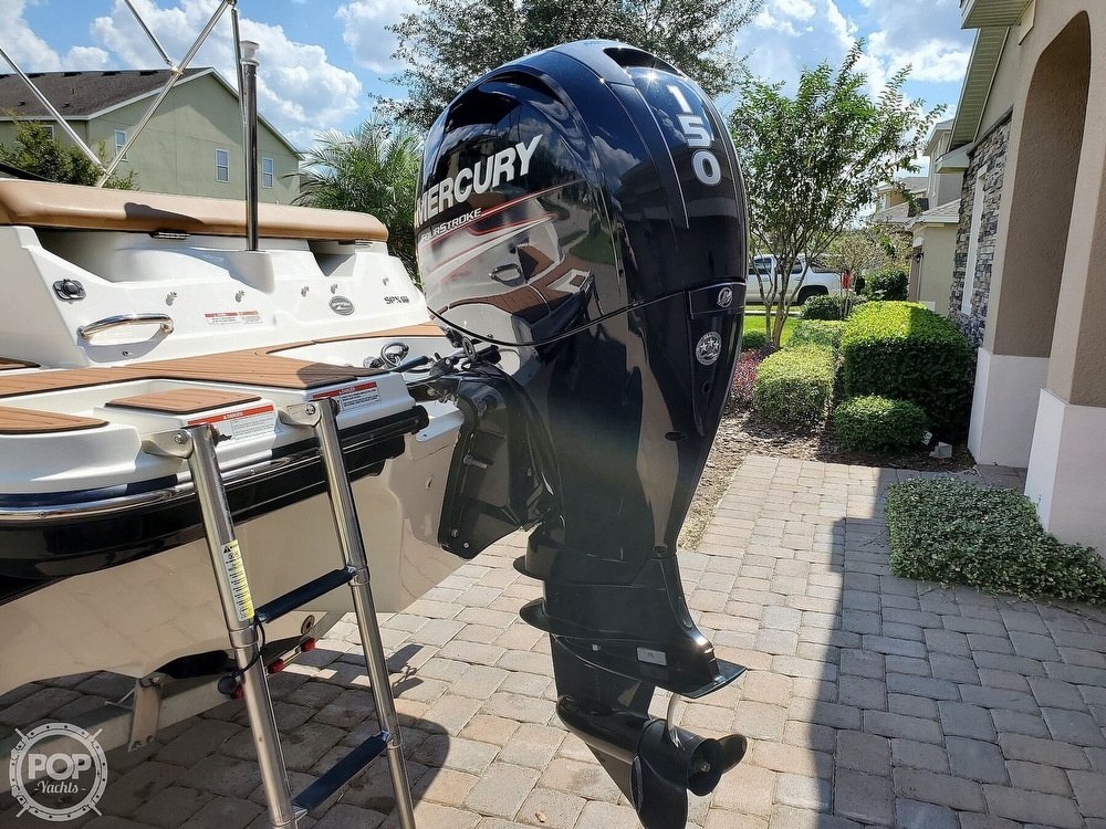 2018 Sea Ray boat for sale, model of the boat is SPX 190 OB & Image # 10 of 40