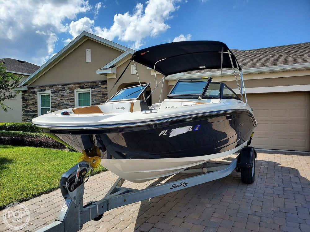 2018 Sea Ray boat for sale, model of the boat is SPX 190 OB & Image # 2 of 40
