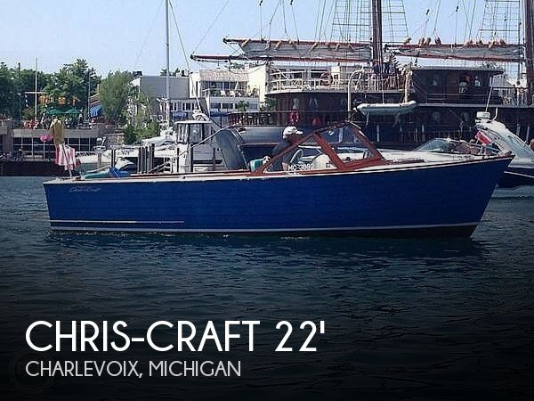 Used Chris-Craft Boats For Sale in Michigan by owner | 1961 22 foot Chris-Craft Sea Skiff Ranger