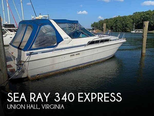 Used Power boats For Sale in Lynchburg, Virginia by owner   1985 Sea Ray 340 Express