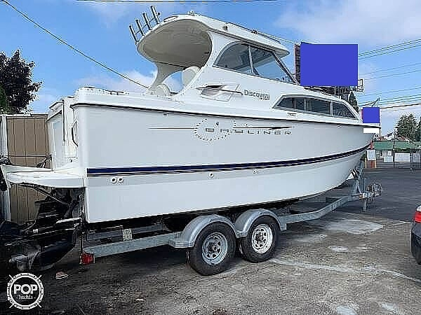 2007 Bayliner boat for sale, model of the boat is Discovery 246 & Image # 2 of 41