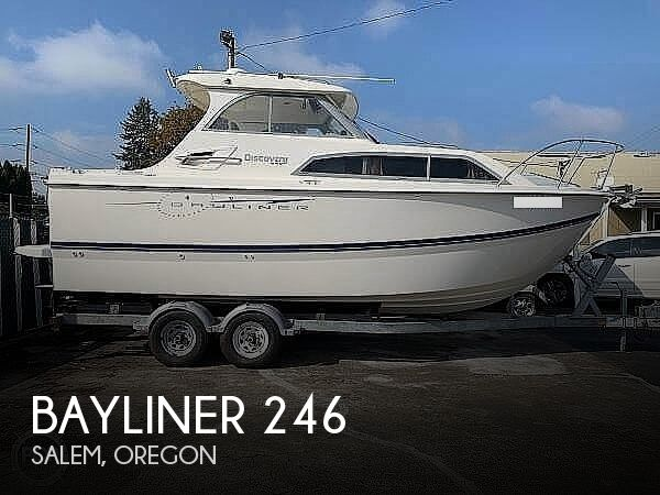 2007 Bayliner boat for sale, model of the boat is Discovery 246 & Image # 1 of 41