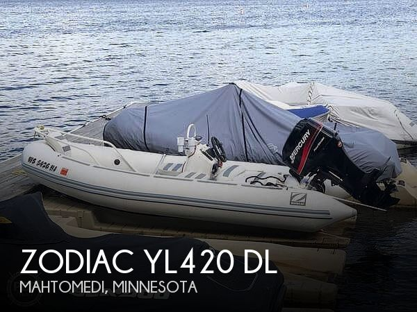 Used Zodiac Boats For Sale by owner | 2000 Zodiac YL420 DL