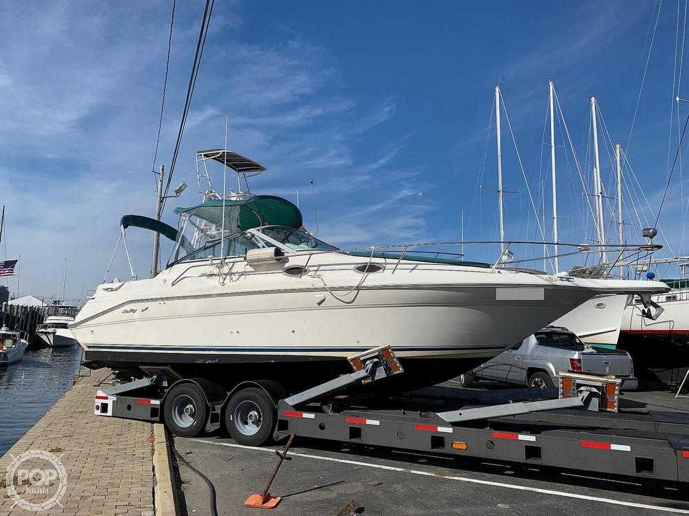 1997 Sea Ray boat for sale, model of the boat is 270 Sundancer & Image # 10 of 40