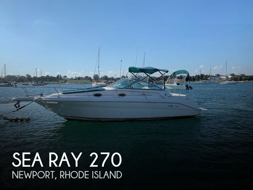 1997 Sea Ray boat for sale, model of the boat is 270 Sundancer & Image # 1 of 40