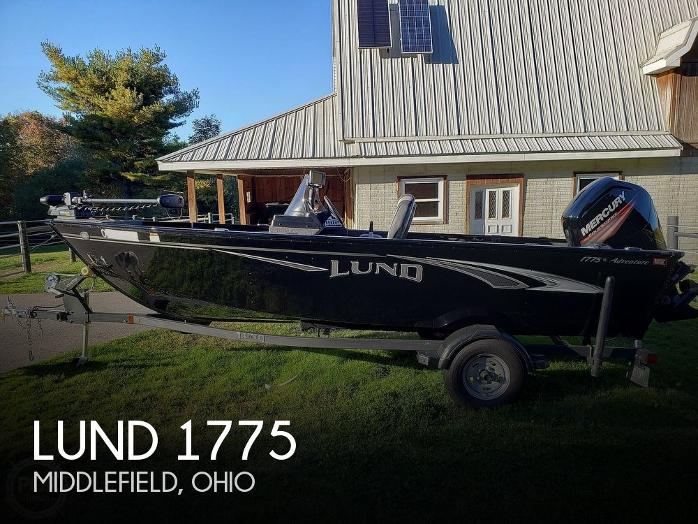 2019 Lund boat for sale, model of the boat is Adventure 1775 SS & Image # 1 of 40