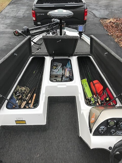1997 Champion boat for sale, model of the boat is 186SC Tournament Series & Image # 8 of 16