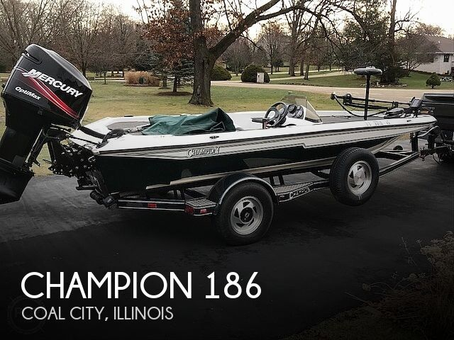 1997 Champion boat for sale, model of the boat is 186SC Tournament Series & Image # 1 of 16
