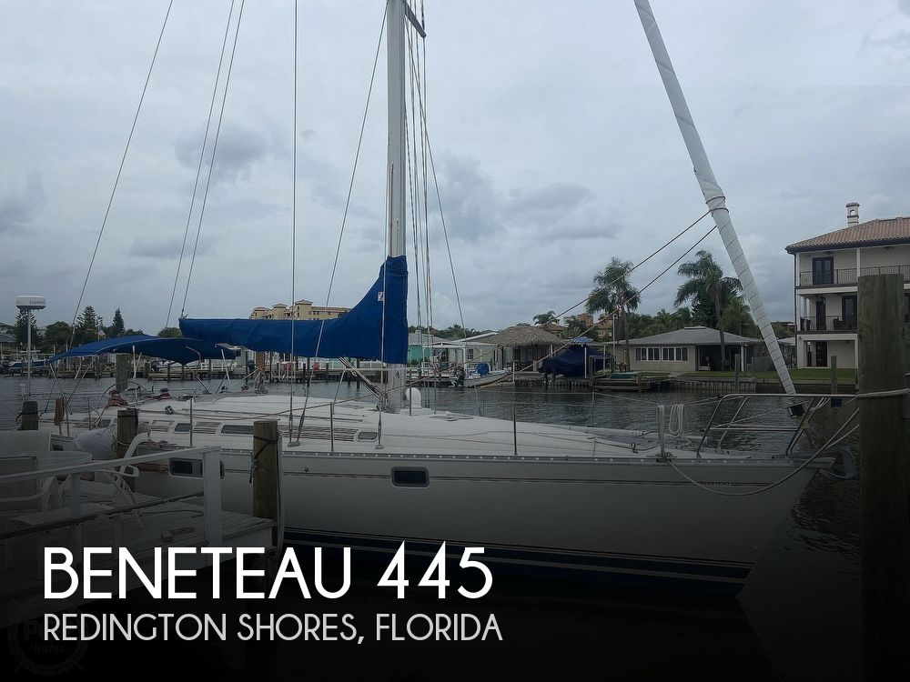 1992 Beneteau boat for sale, model of the boat is 445 & Image # 1 of 40
