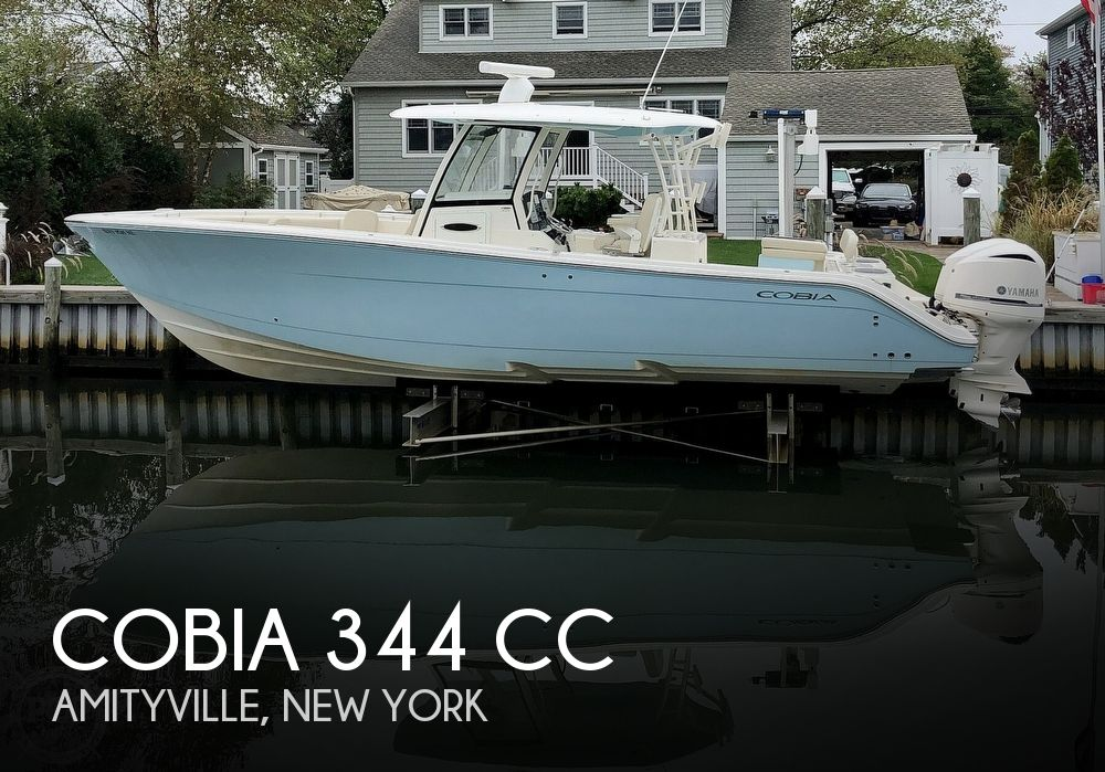 Used Boats For Sale in Bridgeport, Connecticut by owner | 2016 Cobia 344