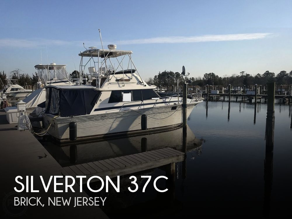 1981 Silverton boat for sale, model of the boat is 37C & Image # 1 of 40