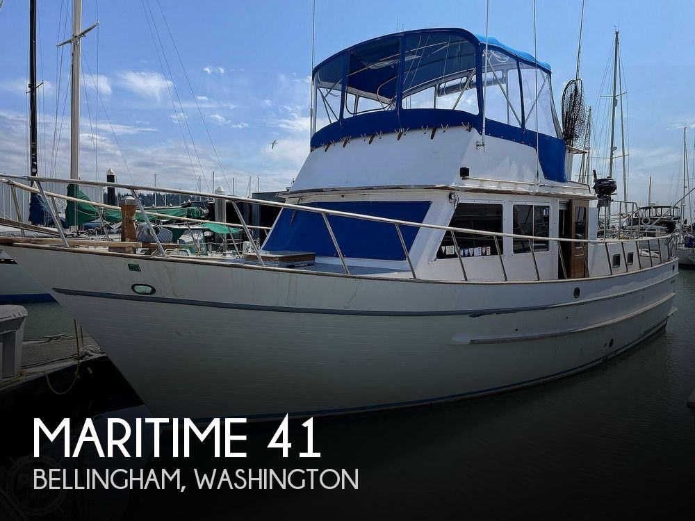 1979 Maritime boat for sale, model of the boat is 41 & Image # 1 of 40