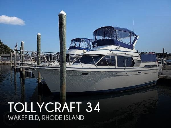 Used Tollycraft Boats For Sale by owner | 1988 Tollycraft 34