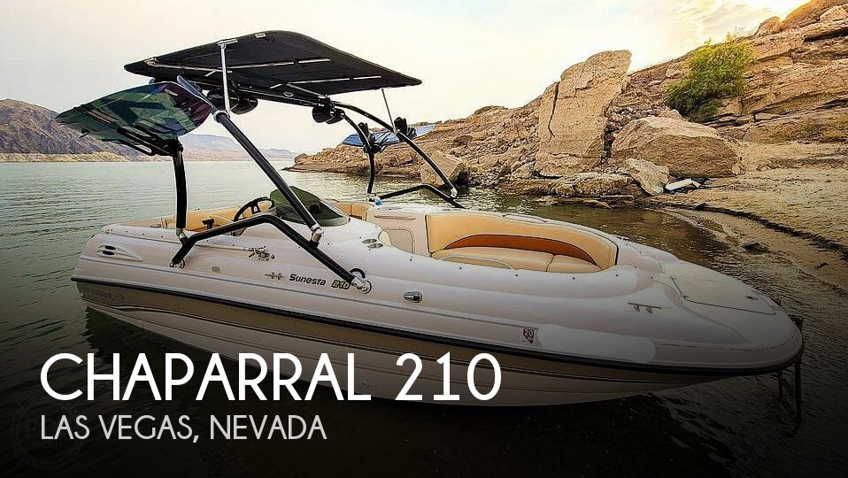 1997 Chaparral boat for sale, model of the boat is Sunesta 210 Limited Edition & Image # 1 of 40