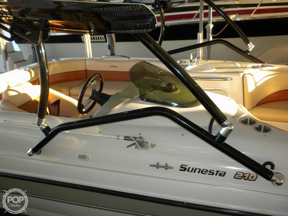 1997 Chaparral boat for sale, model of the boat is Sunesta 210 Limited Edition & Image # 22 of 40