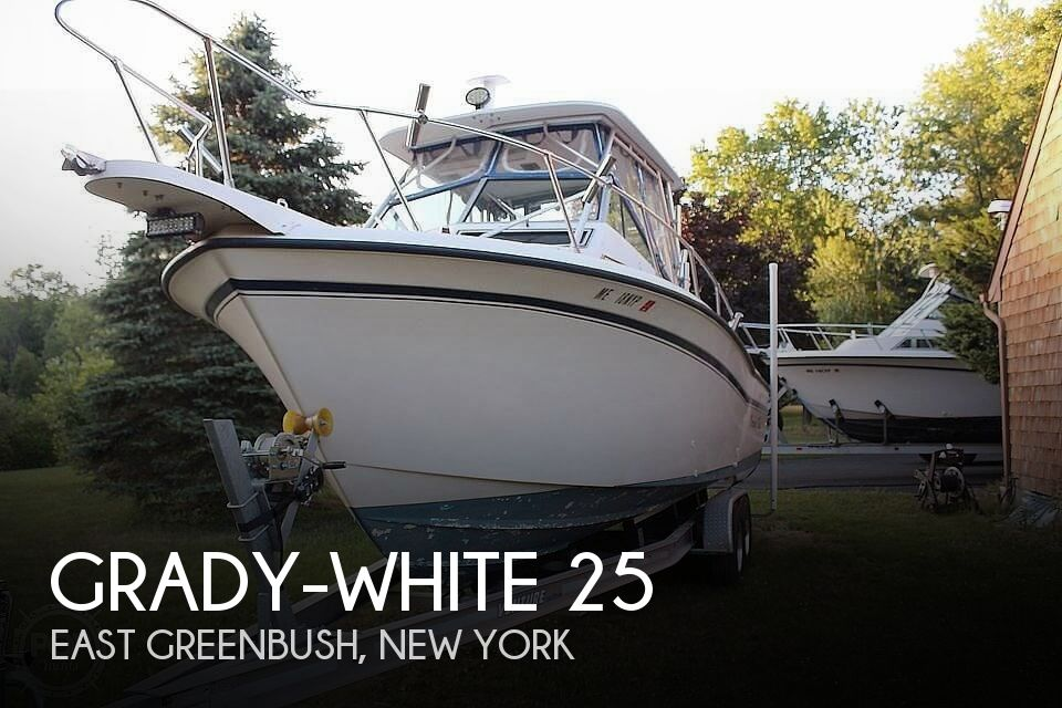 Used Boats For Sale in Springfield, Massachusetts by owner | 1991 26 foot Dolphin Grady White
