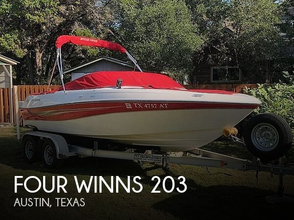 Used Four Winns Boats For Sale in Texas by owner | 2008 Four Winns H203 Fish&Ski