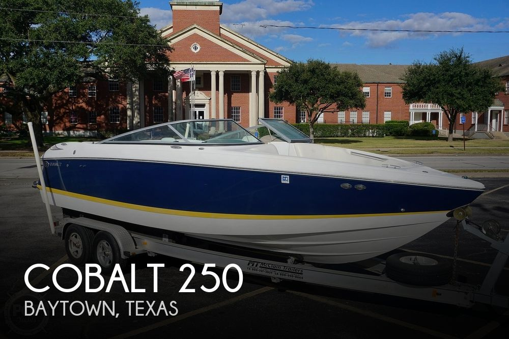 2006 Cobalt boat for sale, model of the boat is 250 & Image # 1 of 40