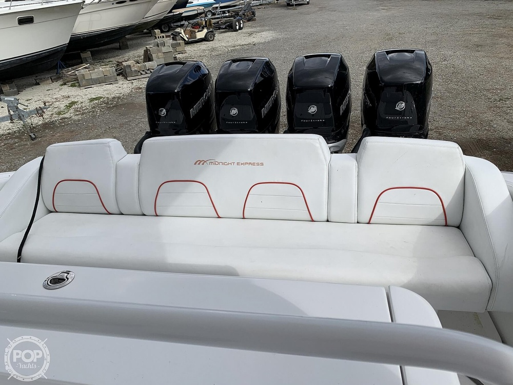 2016 Midnight Express boat for sale, model of the boat is 43 Center Console & Image # 37 of 40