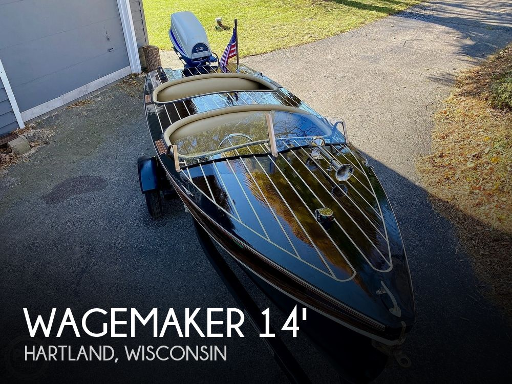 1946 Wagemaker boat for sale, model of the boat is Wolverine Custom & Image # 1 of 40