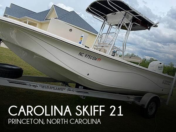 Used Carolina Skiff Boats For Sale by owner | 2020 Carolina Skiff 21 LS