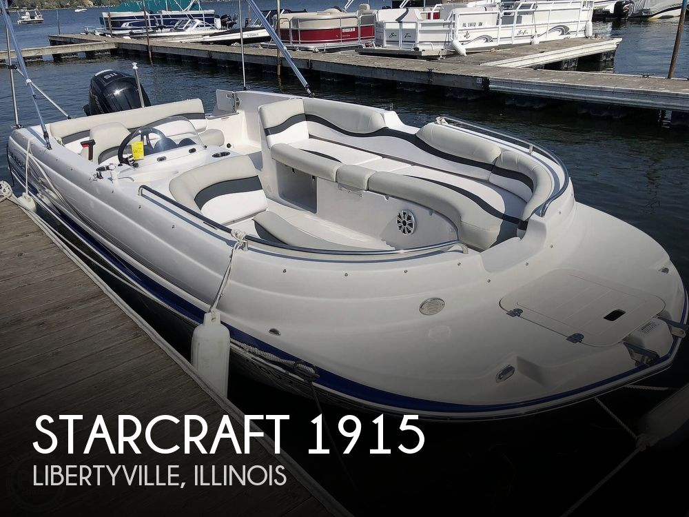 Used Starcraft Deck Boats For Sale by owner | 2018 Starcraft Limited 1915 OB