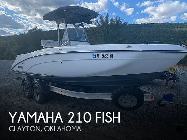 Used Boats For Sale in Oklahoma by owner | 2018 Yamaha 210 Fish