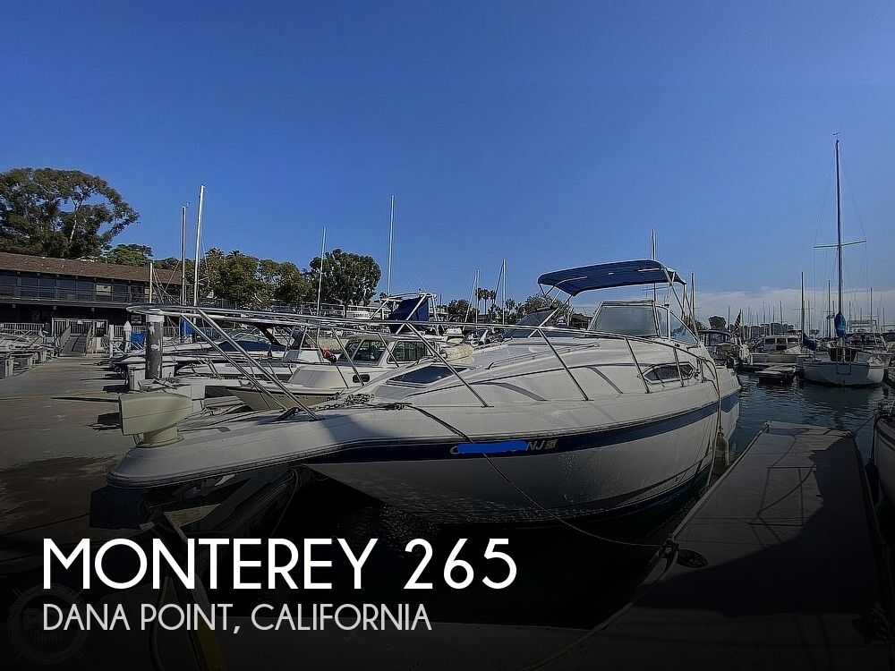 1994 Monterey boat for sale, model of the boat is 265 Cruiser & Image # 1 of 41