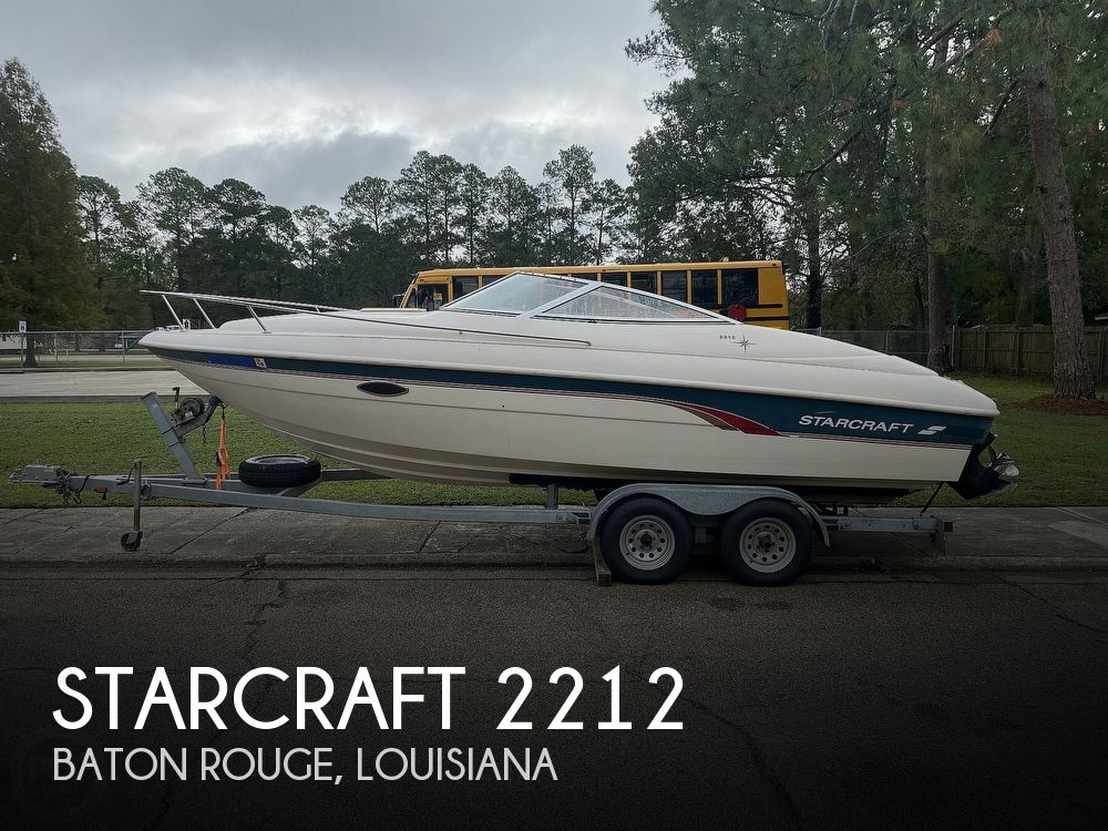 1997 Starcraft boat for sale, model of the boat is 2212 & Image # 1 of 41