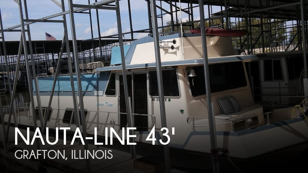 Used Houseboats For Sale in Illinois by owner | 1975 43 foot Nauta-line Houseboat