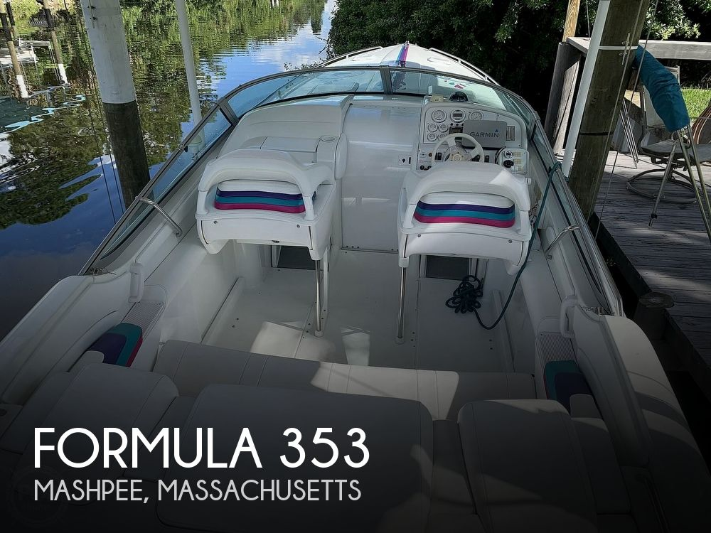 1998 Formula boat for sale, model of the boat is 353 & Image # 1 of 40