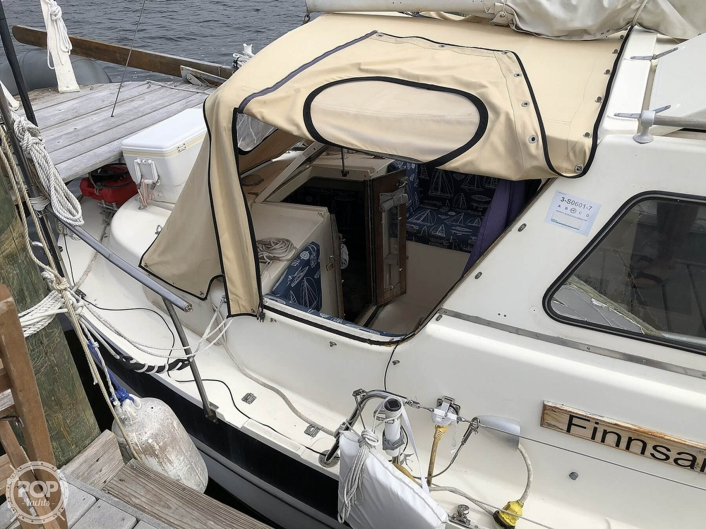 1976 Finnsailer boat for sale, model of the boat is VTZ 29 & Image # 5 of 40