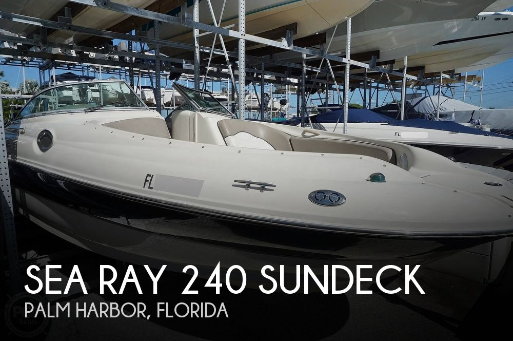 2004 Sea Ray boat for sale, model of the boat is 240 Sundeck & Image # 1 of 40